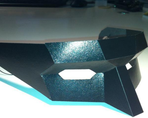 低多边形面具 3D模型  图3
