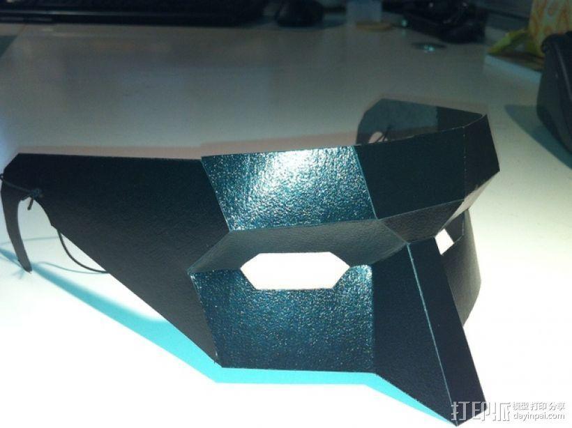 低多边形面具 3D模型  图2