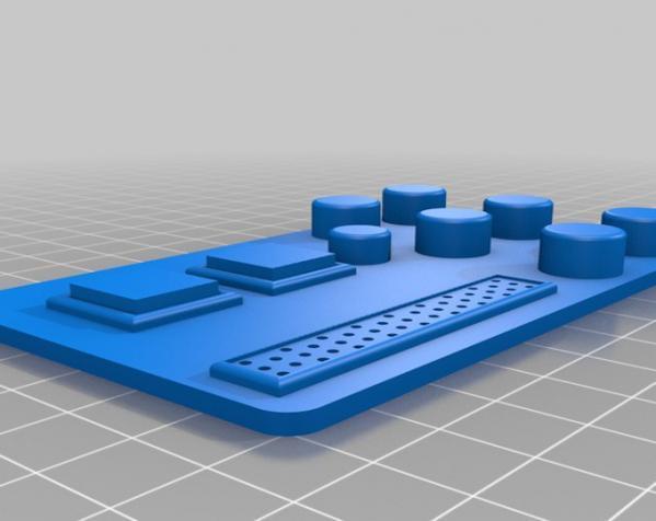 护胸和胸带 3D模型  图5