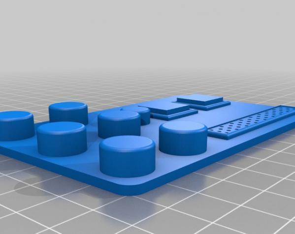 护胸和胸带 3D模型  图8