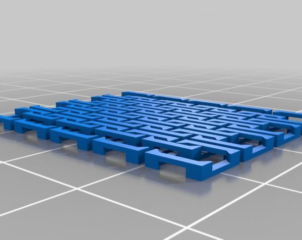 手提式皮包/钱包/晚宴包装饰品 3D模型  图4