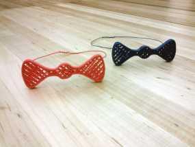 蝴蝶领结 3D模型