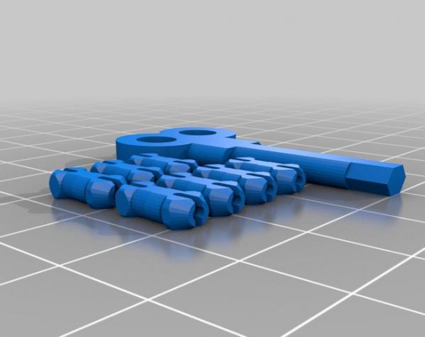 心形钥匙圈 3D模型  图9