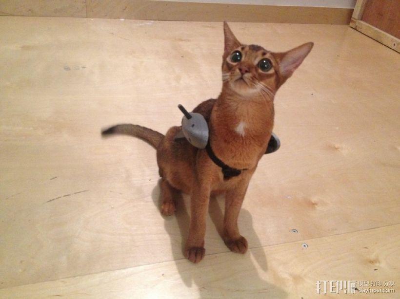 战斗中的猫咪 3D模型  图3