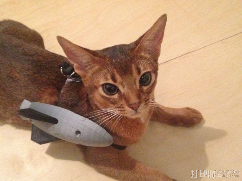 战斗中的猫咪 3D模型  图2