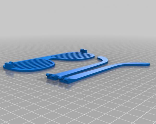 百叶窗式眼镜 3D模型  图5