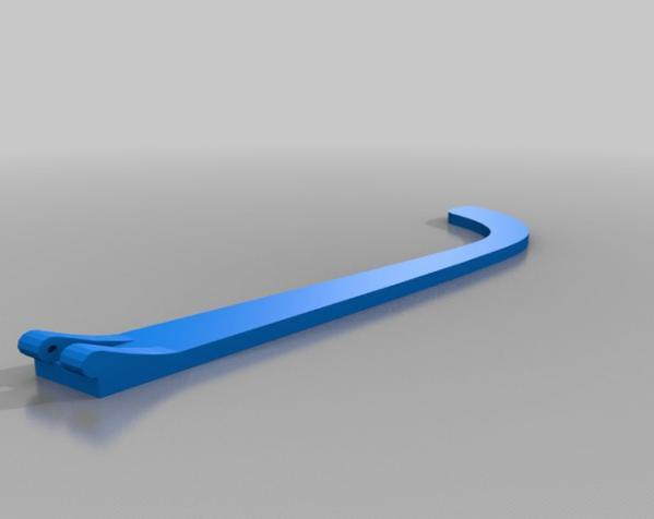 百叶窗式眼镜 3D模型  图6