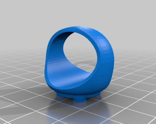 乐高戒指 3D模型  图3