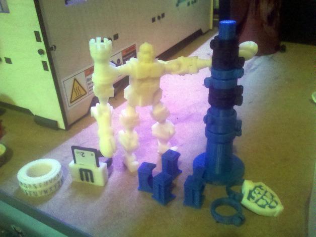 分级环塔 3D模型  图2