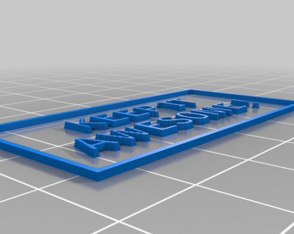钥匙圈装饰品 3D模型  图5