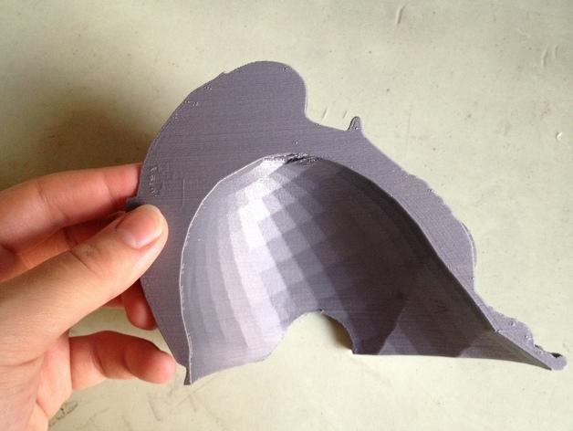 Burgonet轻型头盔 3D模型  图4