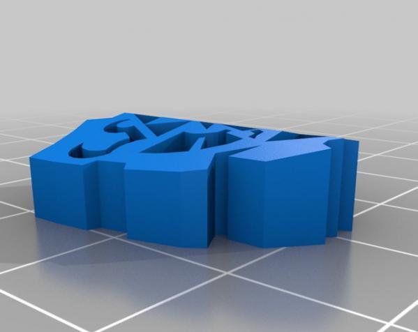 盾牌形戒指 3D模型  图3