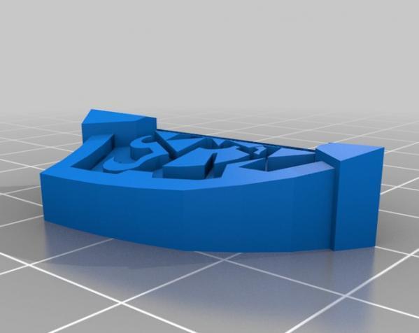 盾牌形戒指 3D模型  图8