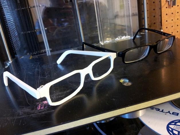 D&G 3D眼镜架 3D模型  图2