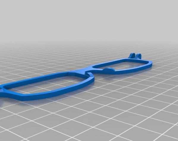 D&G 3D眼镜架 3D模型  图3