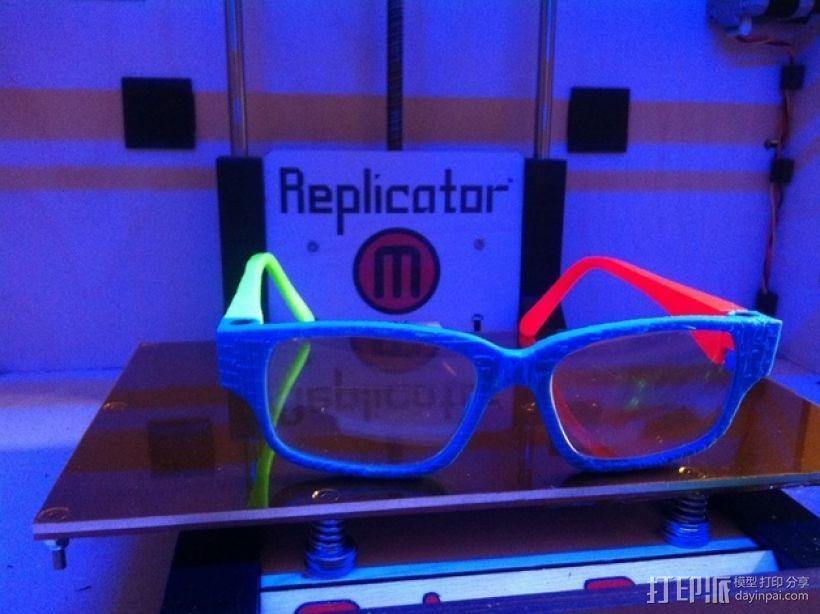 眼镜零部件v1 3D模型  图3