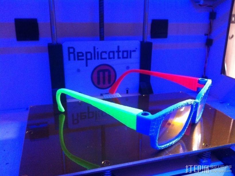 眼镜零部件v1 3D模型  图2