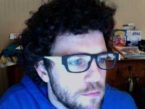 眼镜框/眼镜架零部件 3D模型