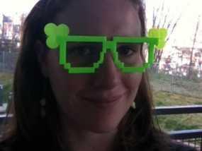 三叶草眼镜框/眼镜架 3D模型