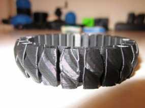 可伸缩手环 3D模型