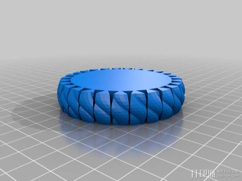 可伸缩手环 3D模型  图5