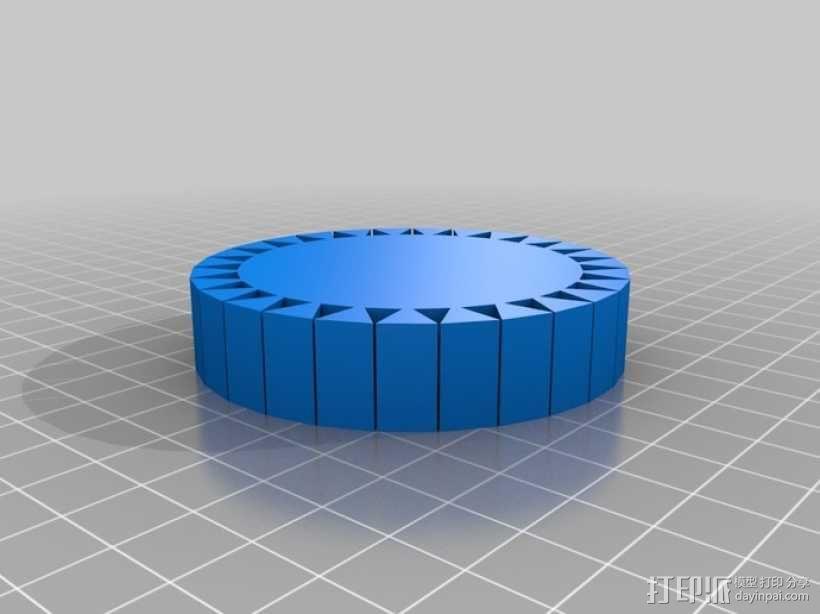 可伸缩手环 3D模型  图6