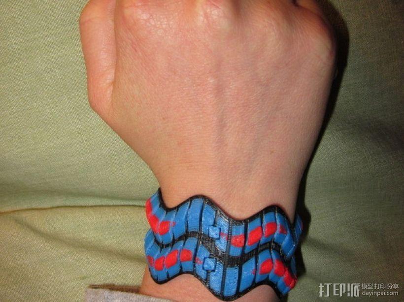 灵活性手环 3D模型  图4