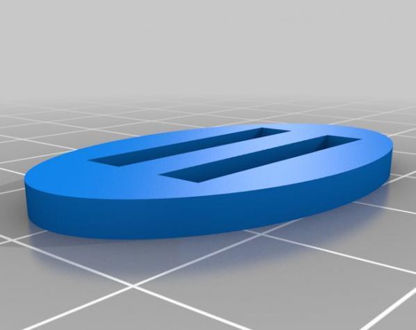 迷你参数化带扣 3D模型  图1