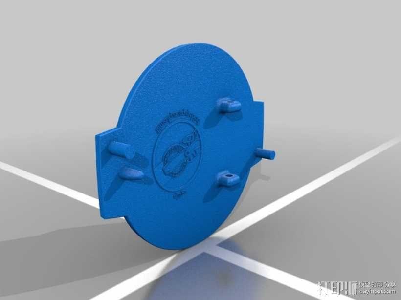 游戏《生化奇兵》皮带扣 3D模型  图4