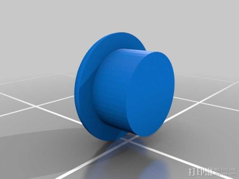 齿轮形手机壳/手机套 3D模型  图2