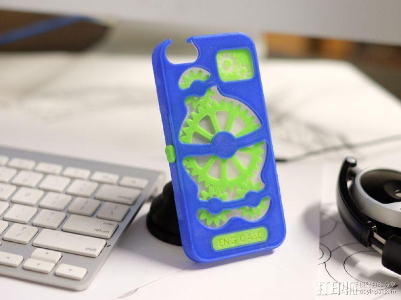 齿轮形手机壳/手机套 3D模型  图4