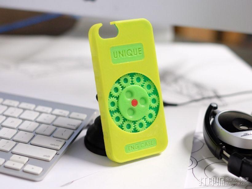 齿轮形手机壳/手机套 3D模型  图6