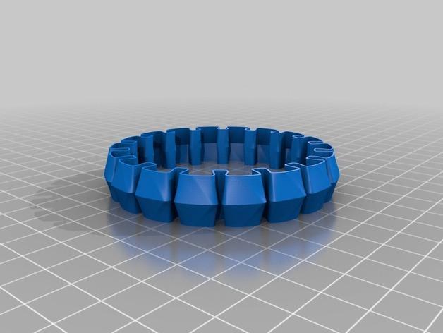 个性化灵活手环 3D模型  图3