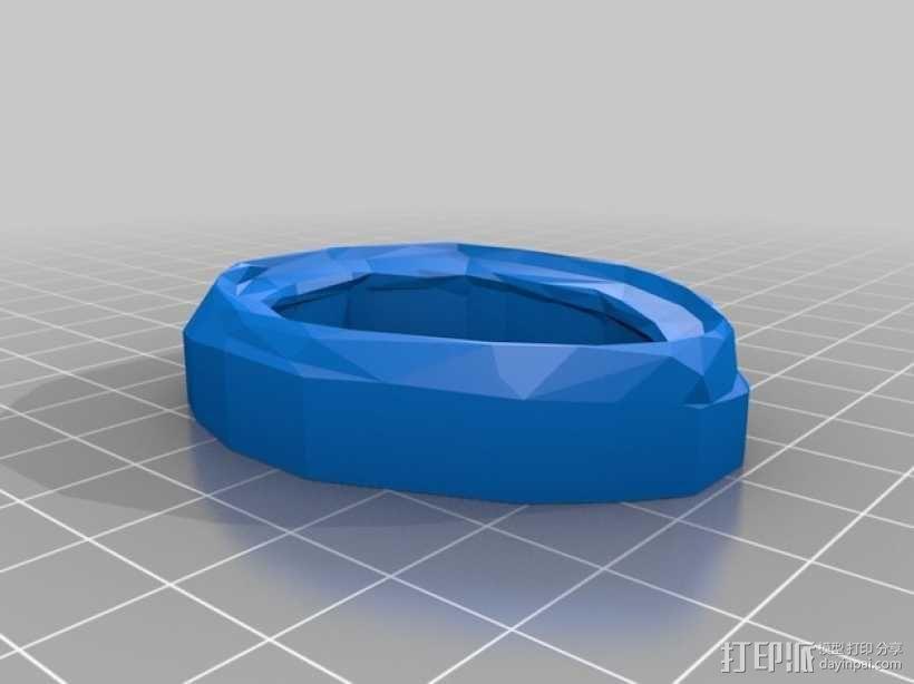 游戏《无主之地2》面具 3D模型  图4