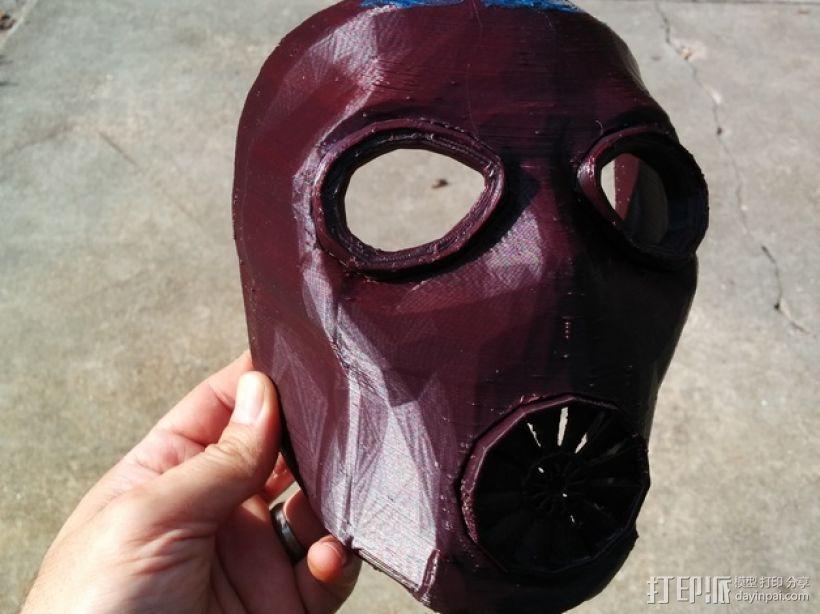 游戏《无主之地2》面具 3D模型  图5