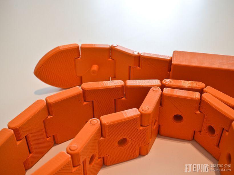 3D打印皮带 3D模型  图1