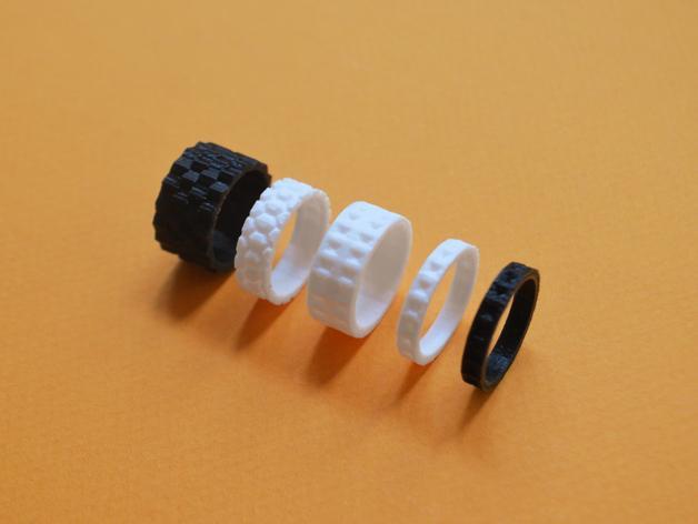 个性化戒指 3D模型  图1