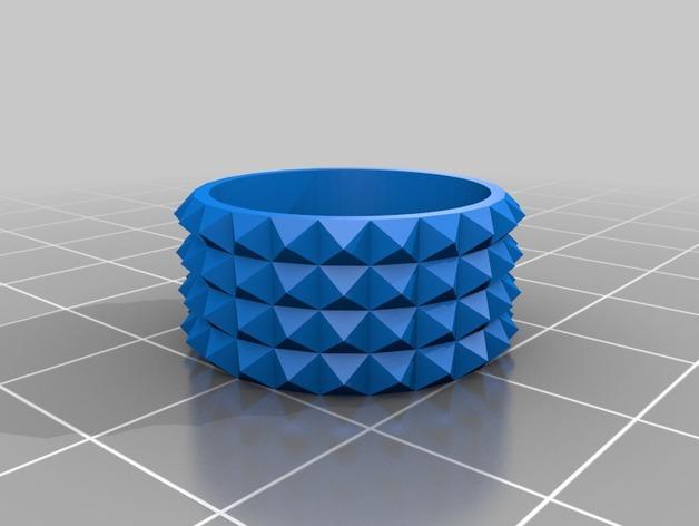 个性化戒指 3D模型  图3