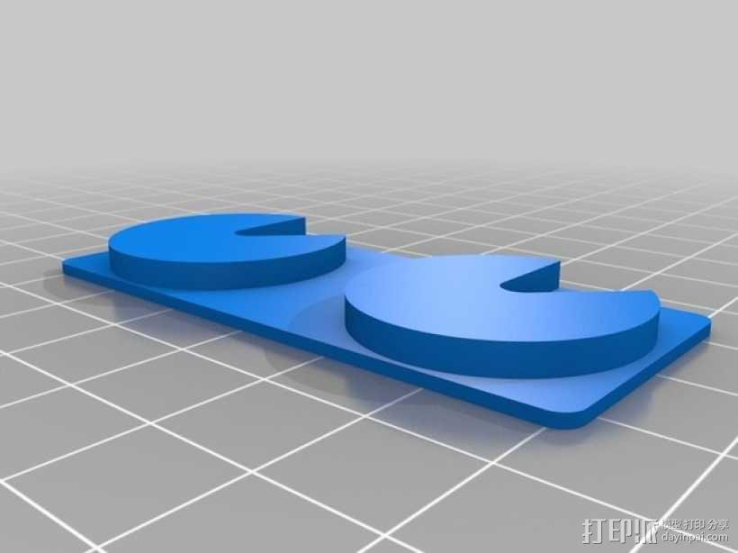 迷你UV美甲灯 3D模型  图4