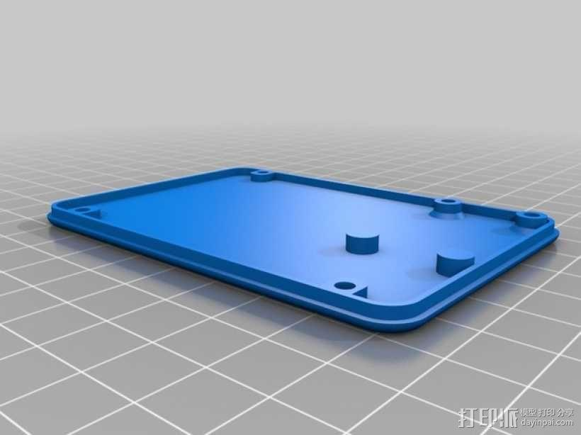 迷你UV美甲灯 3D模型  图6