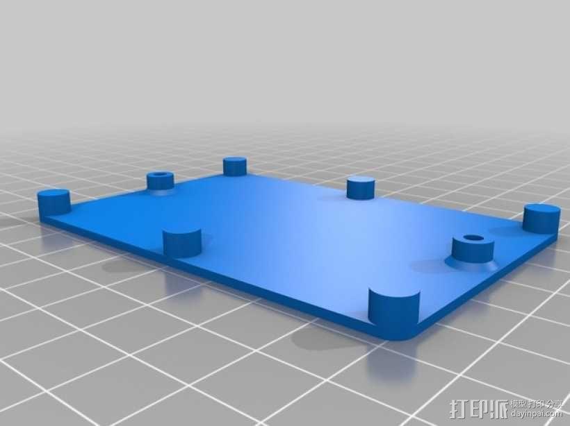 迷你UV美甲灯 3D模型  图5