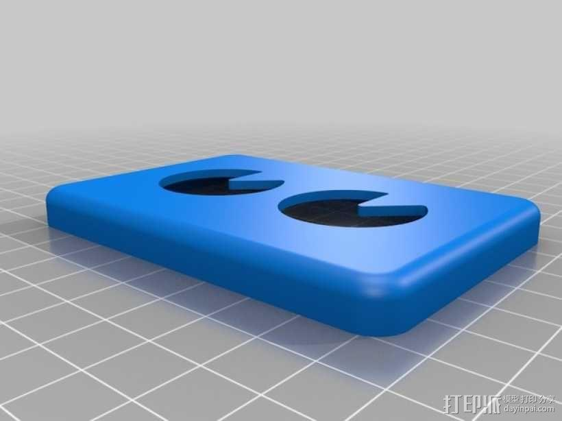 迷你UV美甲灯 3D模型  图8