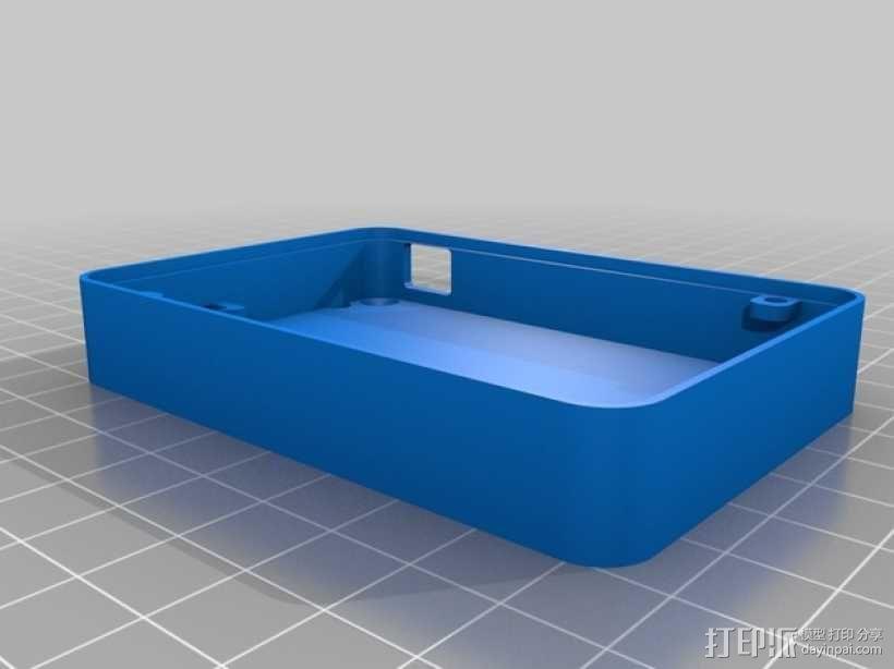迷你UV美甲灯 3D模型  图7
