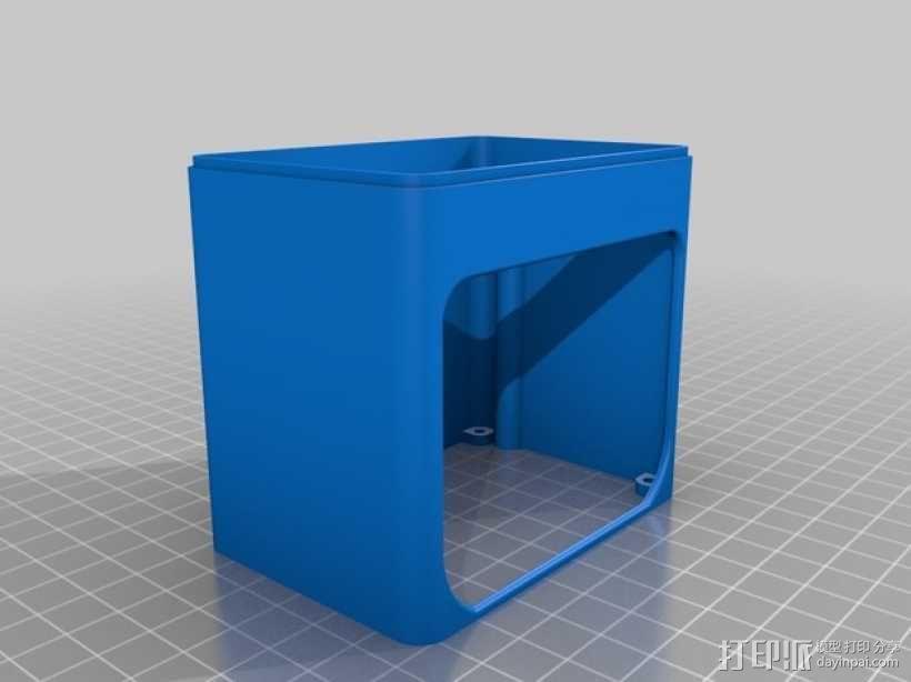 迷你UV美甲灯 3D模型  图9