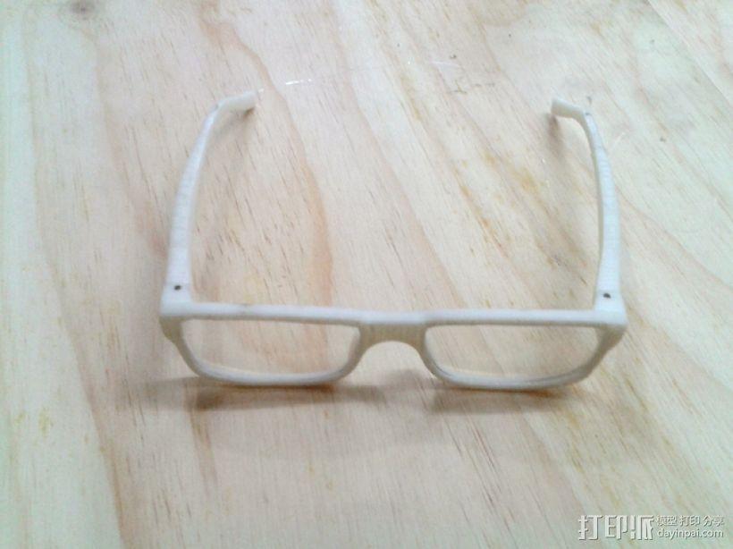 迷你备用眼镜 3D模型  图1