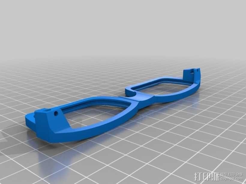 迷你备用眼镜 3D模型  图4
