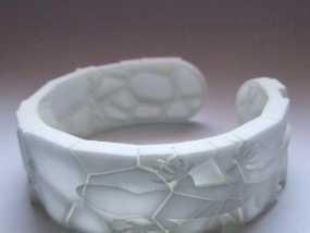 蜥蜴形手镯 3D模型
