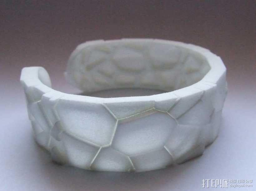 蜥蜴形手镯 3D模型  图4