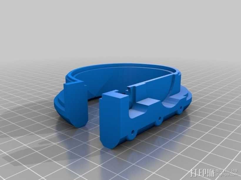 DAZZLER发光手镯 3D模型  图3