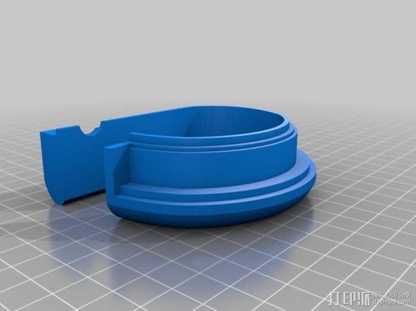 DAZZLER发光手镯 3D模型  图4